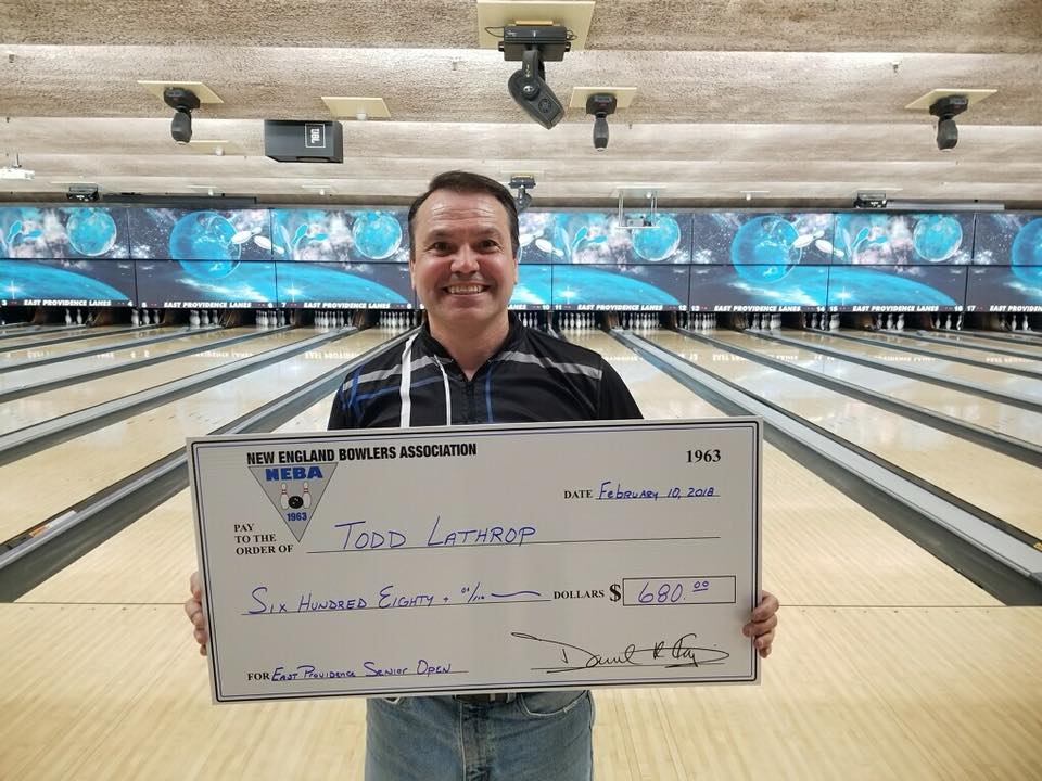 Todd Lathrop Grabs Senior Title