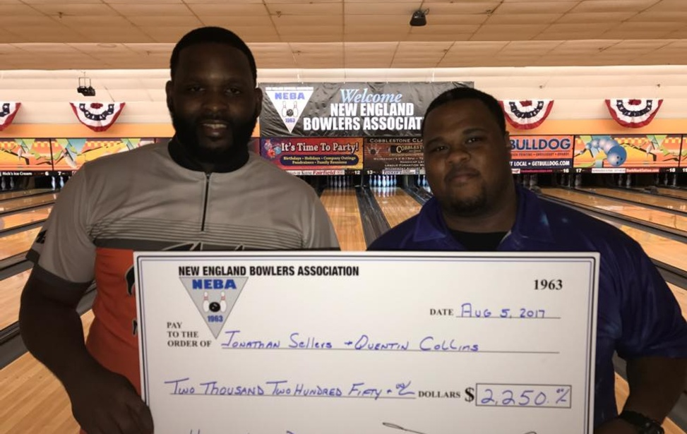 Sellers & Collins Defend Title at Yankee Lanes Doubles